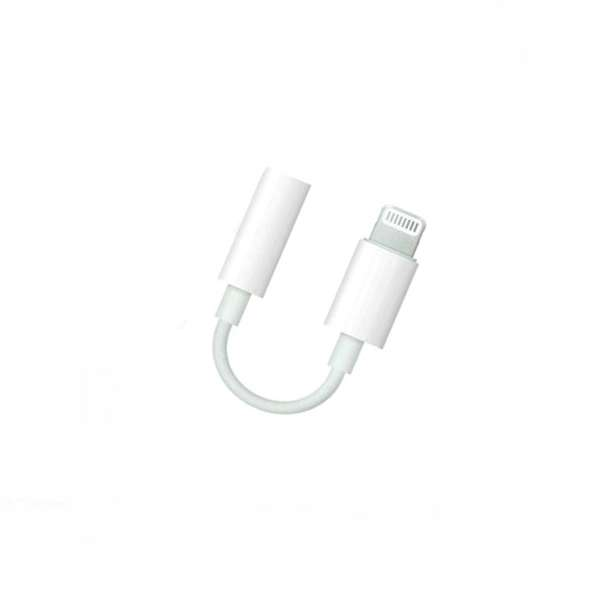 ORIGINAL IPHONE LIGHTNING TO AUX 3.5MM MUSIC ADAPTER